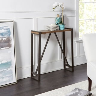 Boston Slim Trestle Frame Console Table