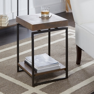Bronson Floating Top Accent Table