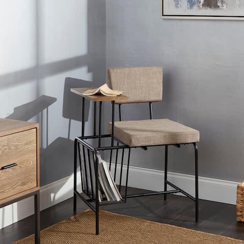 Woodard Mid-Century Gossip Chair