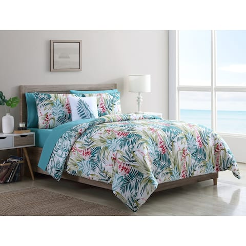 VCNY Home Cooper Tropical Bed-in-a-Bag Comforter Set