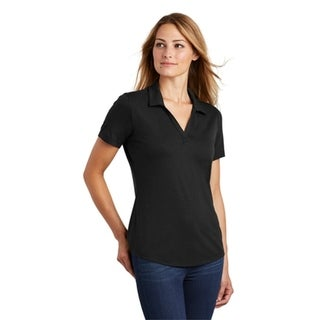 Sport-Tek Ladies Posicharge Tri Blend Wicking Polo