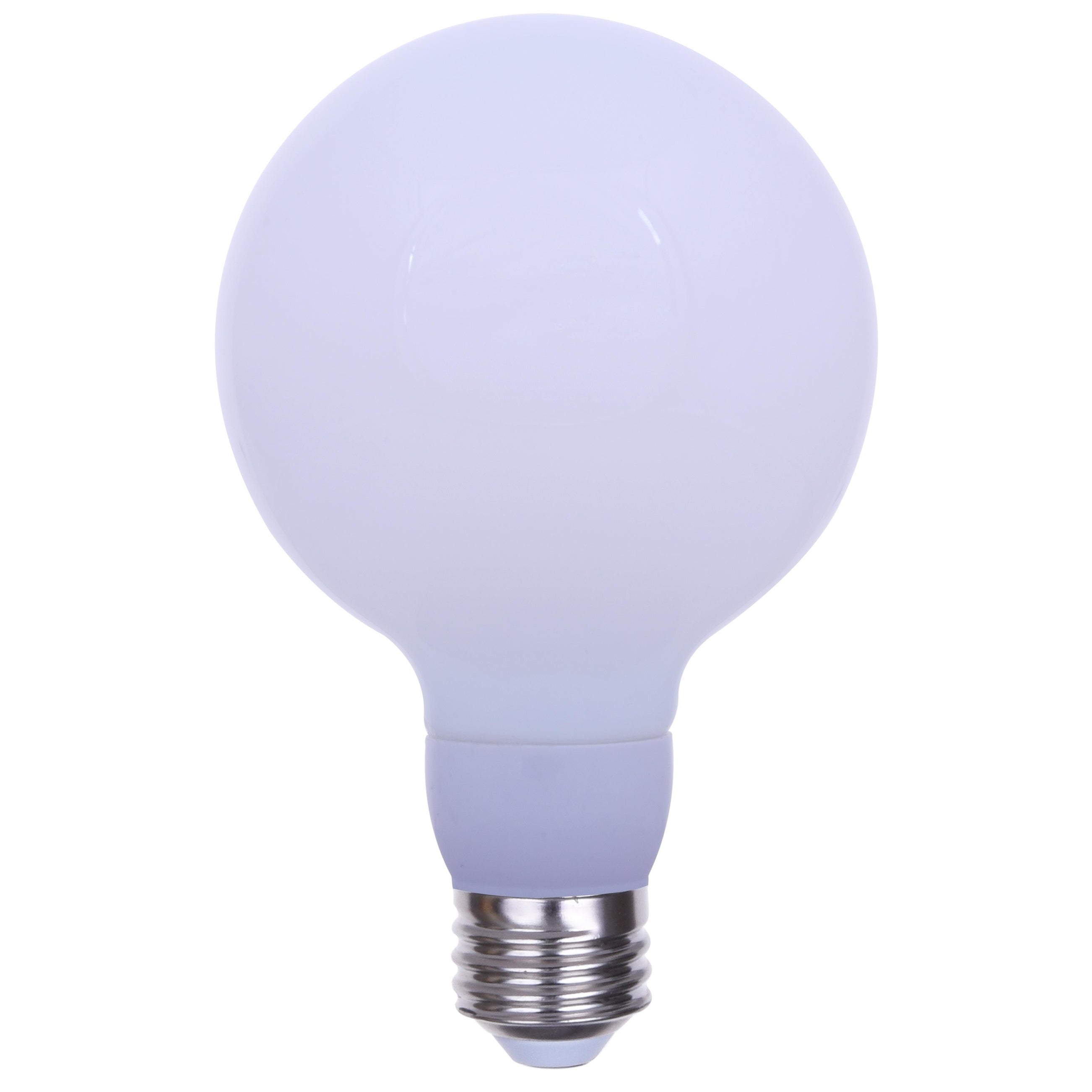 3 Pack G30 Led Edison Globe Light Bulb 15w 100 Watt Equivalent 1600 Lumens Frosted E26 Base Dimmable