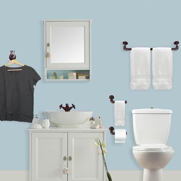 Instyledesign 4 Piece Bathroom Accessories Hardware Set Overstock 27550954