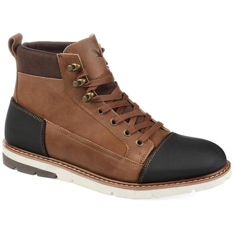 Territory Mens Titan Cap Toe Ankle Boot