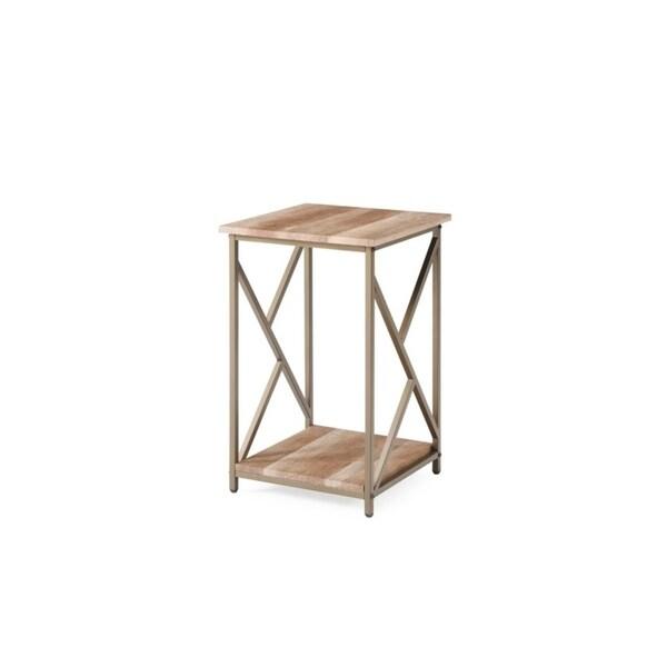 Hodedah 24.4 inch H Side Table