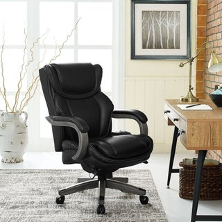 La-Z-Boy Bonded Leather/Metal Big & Tall Executive Chair