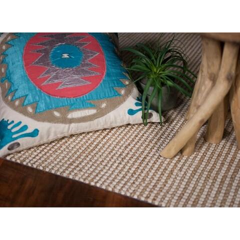 Domani Ivory Handwoven Jute Area Rug