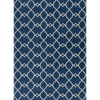 Retreat Trellis Geometric Area Rug