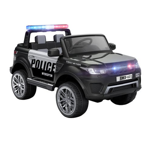 12V Ride On Police Vehicle