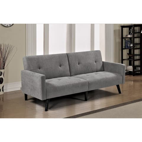 Buy Grey, Mid-Century Modern, Sleeper Sofa Online at ...