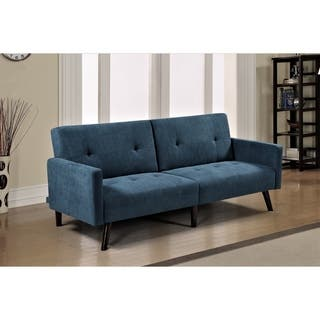 Buy Blue Down Fill Cushions Sleeper Sofa Online At Overstock Our