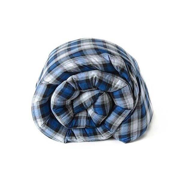 Shop Twin Size 42 Quot X72 Quot 12 15 18 20lbs Cotton Plaid