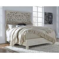 Bantori King Panel Bed