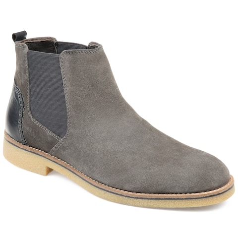 Thomas & Vine Men's Suede Hendrix Chelsea Boot