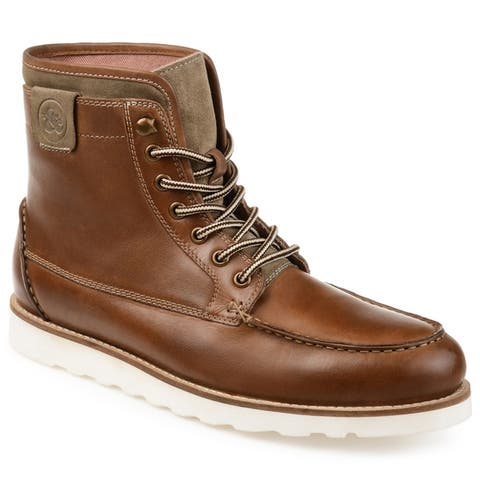 Thomas & Vine Mens Donovan Moc Toe Boot