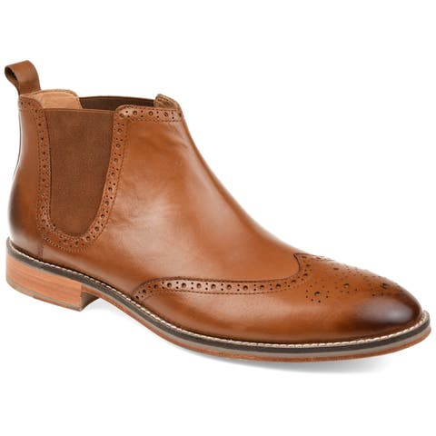 Thomas and Vine Mens Thorne Chelsea Leather Boots
