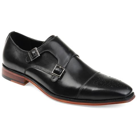 Thomas & Vine Men's Rockwell Double Monk Strap Shoe