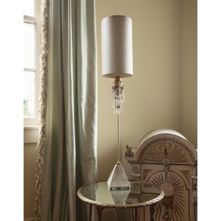 Buffet Table Lamp Crystals and Shabby Chic By Lucas McKearn