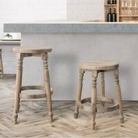 The Gray Barn MacAuley Round Counter and Bar Stools