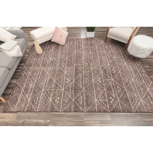 Weston Tribal Brown - 8' x 10'