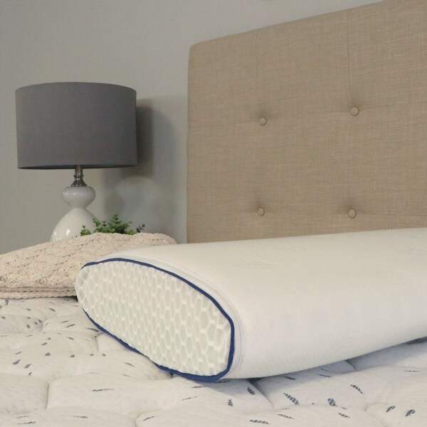 Envoy Sleep Four Way Copper Latex and Memory Foam Pillow. Opens flyout.