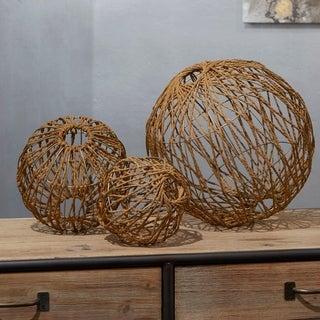Andre Rope Spheres (Set of 3)