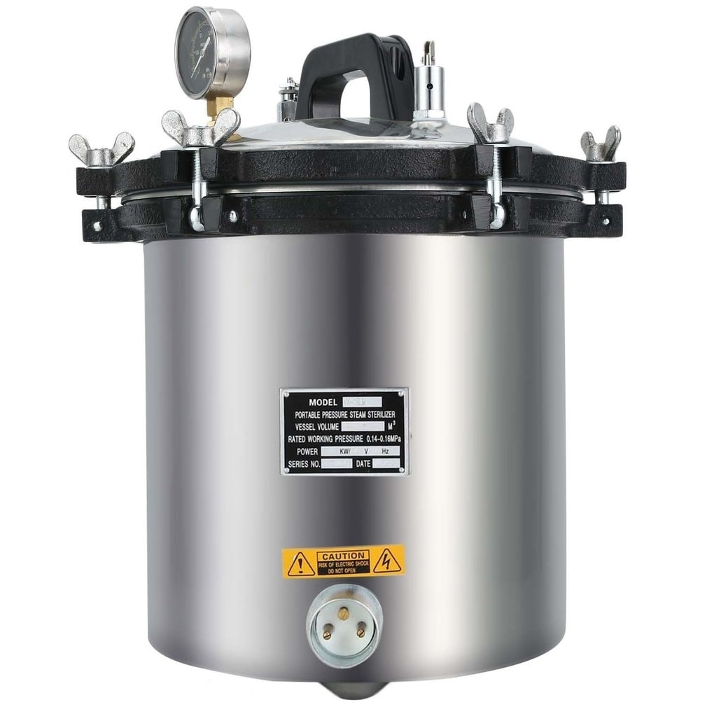 18 Liter Steam Autoclave Sterilizer Tattoo Dental Commerical Unit