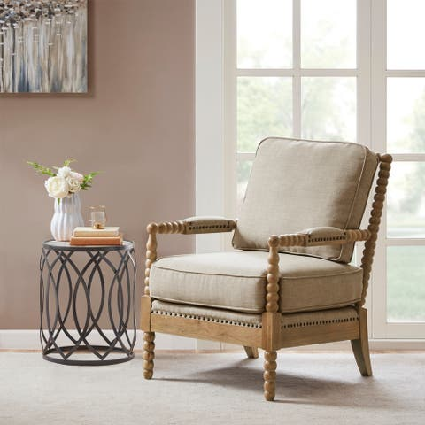 Madison Park Sunnee Silver Accent chair