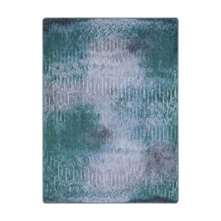 "Joy Carpets Raku Nylon Mirage Lake Rectangular Area Rug - 5'4"" x 7'8"" - 5'4"" x 7'8"""