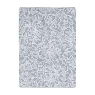 "Joy Carpets New Bloom Nylon Sterling Rectangular Area Rug - 7'8"" x 10'9"" - 7'8"" x 10'9"""
