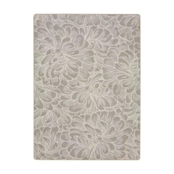 "Joy Carpets New Bloom Nylon Hazelwood Rectangular Area Rug - 7'8"" x 10'9"" - 7'8"" x 10'9"""