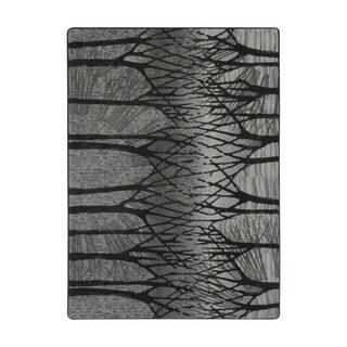 "Joy Carpets Woodland Way Nylon Foggy Hollow Rectangular Area Rug - 5'4"" x 7'8"" - 5'4"" x 7'8"""