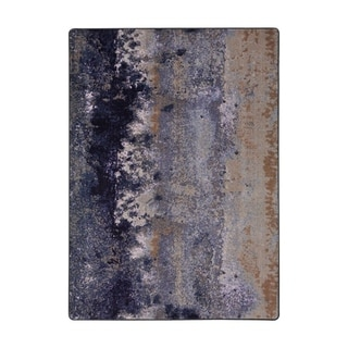 "Joy Carpets Earthen Nylon Amethyst Rectangular Area Rug - 7'8"" x 10'9"" - 7'8"" x 10'9"""