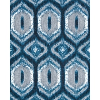"Joy Carpets Chelsea Nylon Peacock Rectangular Area Rug - 3'10"" x 5'4"" - 3'10"" x 5'4"""