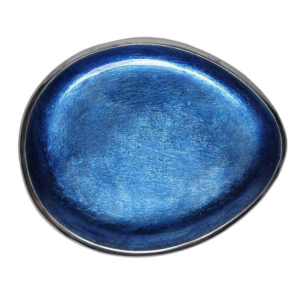 Shop Melange Home Decor Cuivre Collection 9 Inch Oval Platter