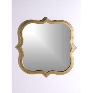 Aurora Home Gold Quatrefoil Mirror - Antique Gold
