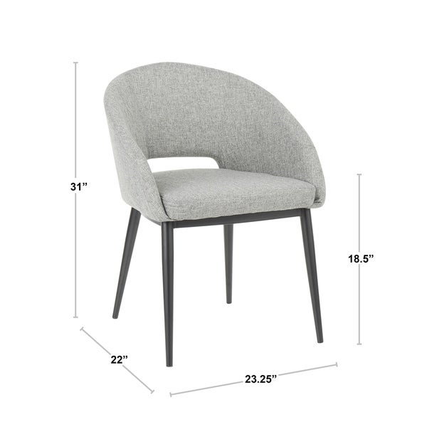 Carson Carrington Cullaville Upholstered Dining Chair