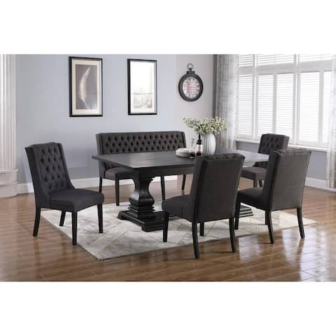 Best Master Furniture 6 Pcs Rectangular Dining Set