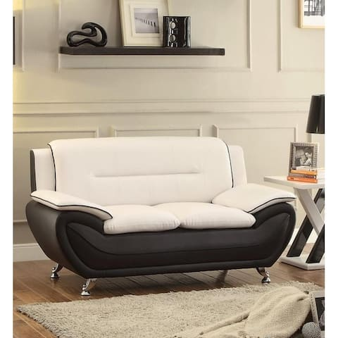 Judson Faux leather Living room Loveseat