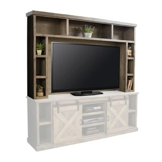 Link to The Gray Barn Sycamore Rise Farmhouse 85-inch Barnwood Hutch (Hutch Only) Similar Items in TV Stands & Entertainment Centers