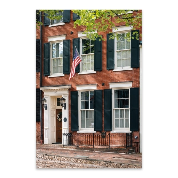 902618445526d Shop Noir Gallery Virginia Old Town Alexandria Metal Wall Art Print - Free  Shipping Today - Overstock - 27555930