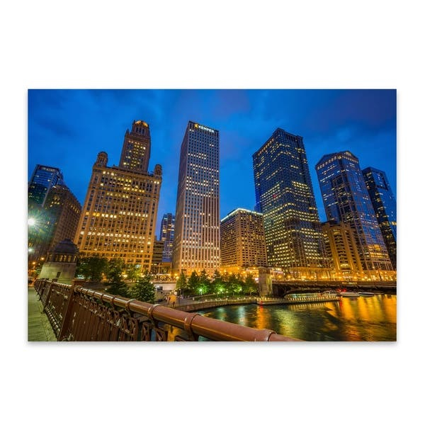 Jon Bilous Chicago Skyline Cityscape