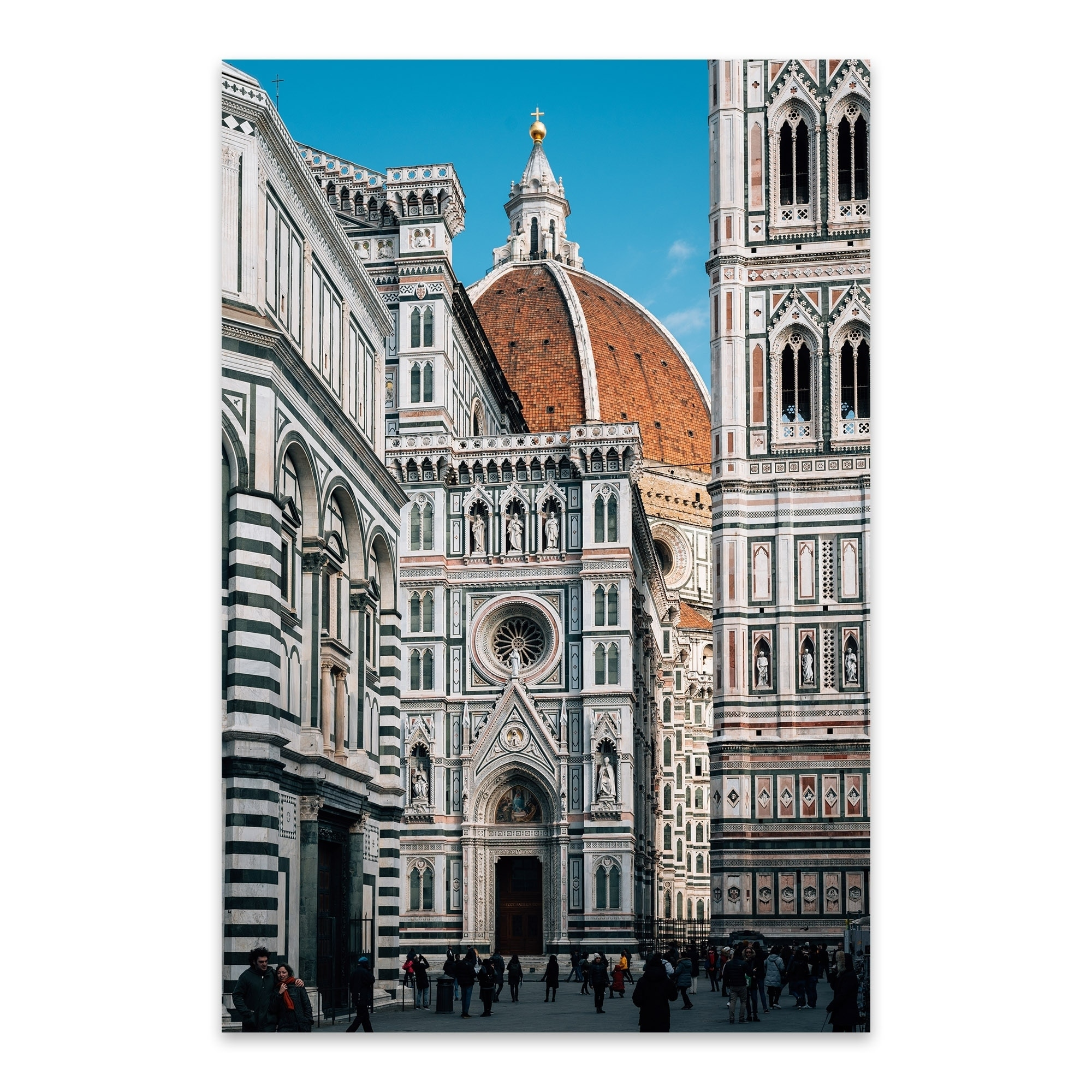 """Canvas Prints Italy View on Florence and Duomo Cathedral 24/"""" x 36/"""""""