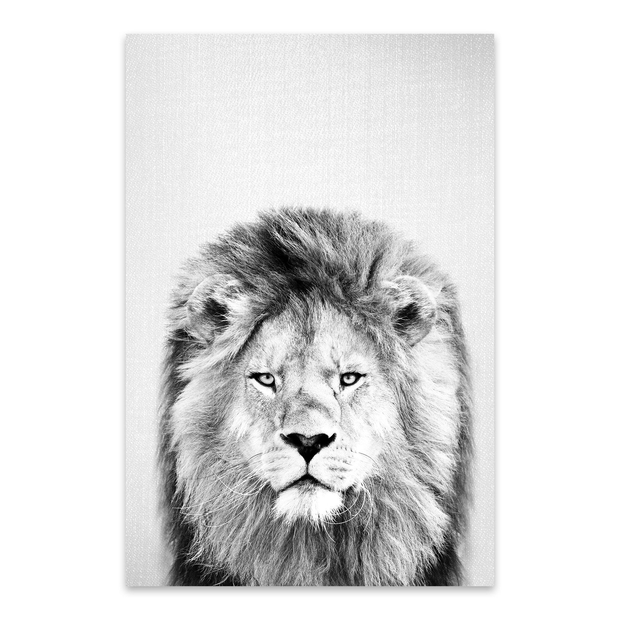 Noir Gallery Gal Design Lion
