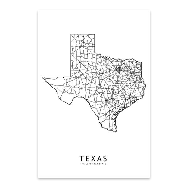 This is a picture of Printable Maps of Texas with geography