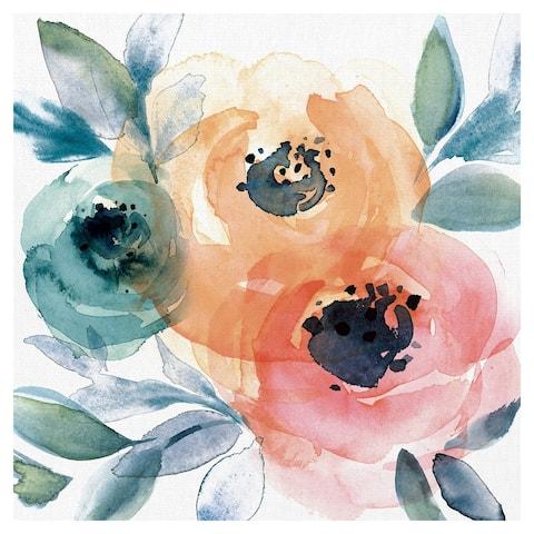 Winter Roses by Willowbrook Fine Art Canvas Art Print