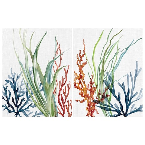 Ocean Magic I & II by Carol Robinson Canvas Art Print Set of 2