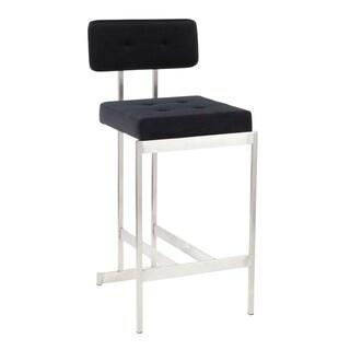 Link to Copper Grove Devnya Velvet Counter Stool Similar Items in Dining Room & Bar Furniture