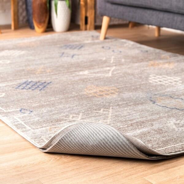 Ikea Felt Rug Pad Review: Shop Porch & Den Norwell Grey Felt Premium Eco-friendly