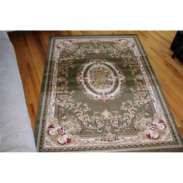 Traditional Oriental Area Rug 5x7 5